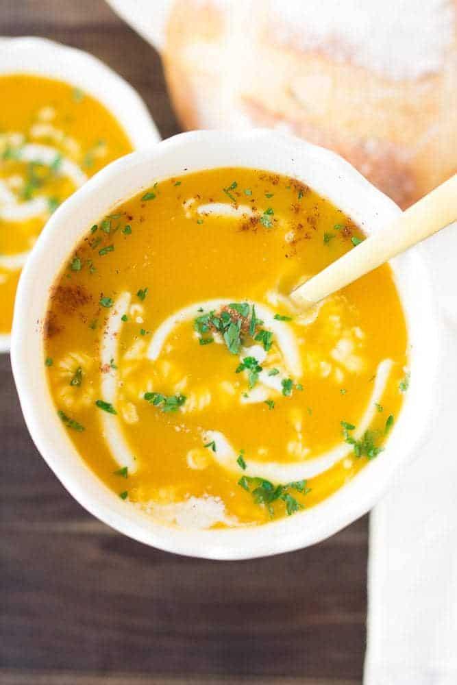 IMG 0296 min - Vegan Butternut Squash Soup