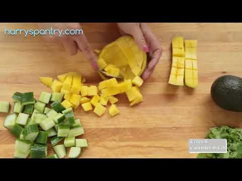 0 4 - Tropical Cucumber Salad
