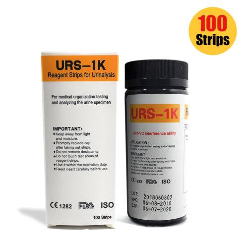 100 KetoneKetosisDiabetes Urine Strip Tests Diet Weight Loss Tools Monitoring 0 - 100x Ketone Strips / Home Ketosis Urine Test - Atkins Diet Weight Loss Tests DJ8